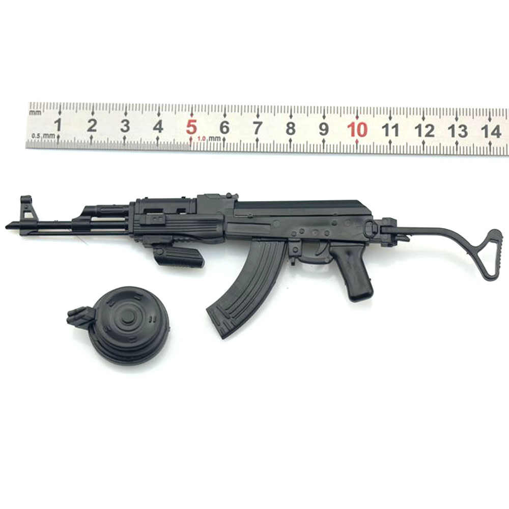 """1//6 Scale AKS 74 Rifle Gun Weapon Display Military Model For 12/"""" Action Figure"""