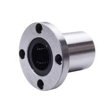 1 pc LMF12UU flange mount linear bearing flanged linear ball bearings nickel mounted linear ball bearings free shipping 10 pcs smf106zz flanged bearings 6x10x3 mm stainless steel flange ball bearings ddlf 1060zz