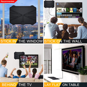 Image 4 - 4K Digital HDTV Aerial Indoor Amplified  Antenna 1180 Miles Range HD1080P DVB T2 Freeview TV