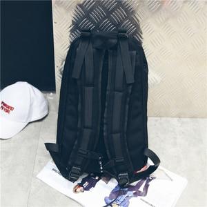 Image 5 - Street style Female Backpack Nylon School Backpack College student travel bagpack Teen School bag Women Laptop Backpack
