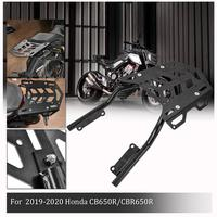 For Honda CB650R CBR650R 2019 2020 Rear Luggage Rack Fender Holder Cargo Shelf Carrier Top Mount Bracket Motorcycle Accessories