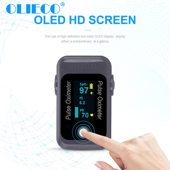 OLIECO OLED Bluetooth Fingertip Pulse Oximeter Mini SPO2 PR Monitor Blood Oxygen Saturation Meter PR Monitor Health Care Monitor цена 2017