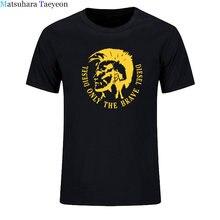 T-shirt manches courtes pour hommes, décontracté, en coton, avec lettres imprimées, blanc, noir, grande taille, été