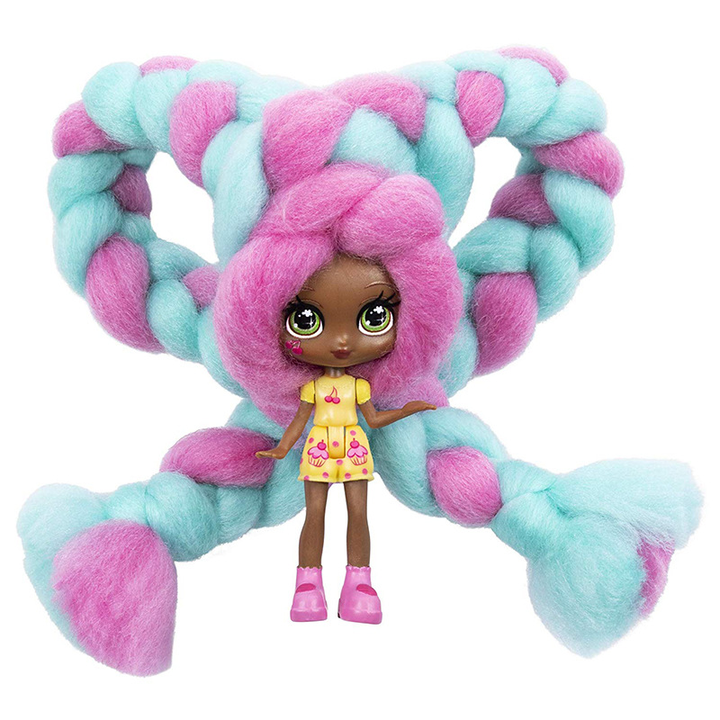 Long Hair Candylocks Sweet Treat Toys Hobbies Dolls Accessories Marshmallow Hair Surprise Hairstyle With Scented Christmas Gift