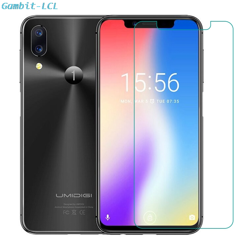 2PCS Tempered Glass for UMIDIGI One Pro Screen Protector 2.5D 9H on UMIDIGI One Glass Film Protective Phone Safety cover