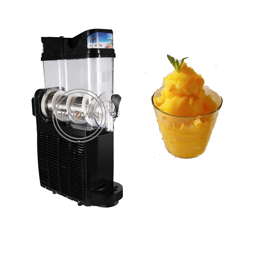 Economical Home Use Slush Ice Machine Snow Melting Machine Single Tank For Sale Ice Slush Maker Machine