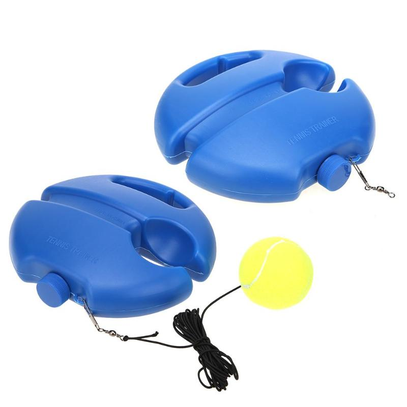 Tennis Trainer Tool Exercise Tennis Ball Training Self-study Rebound Ball Tennis Training Baseboard Sparring Device Equipment