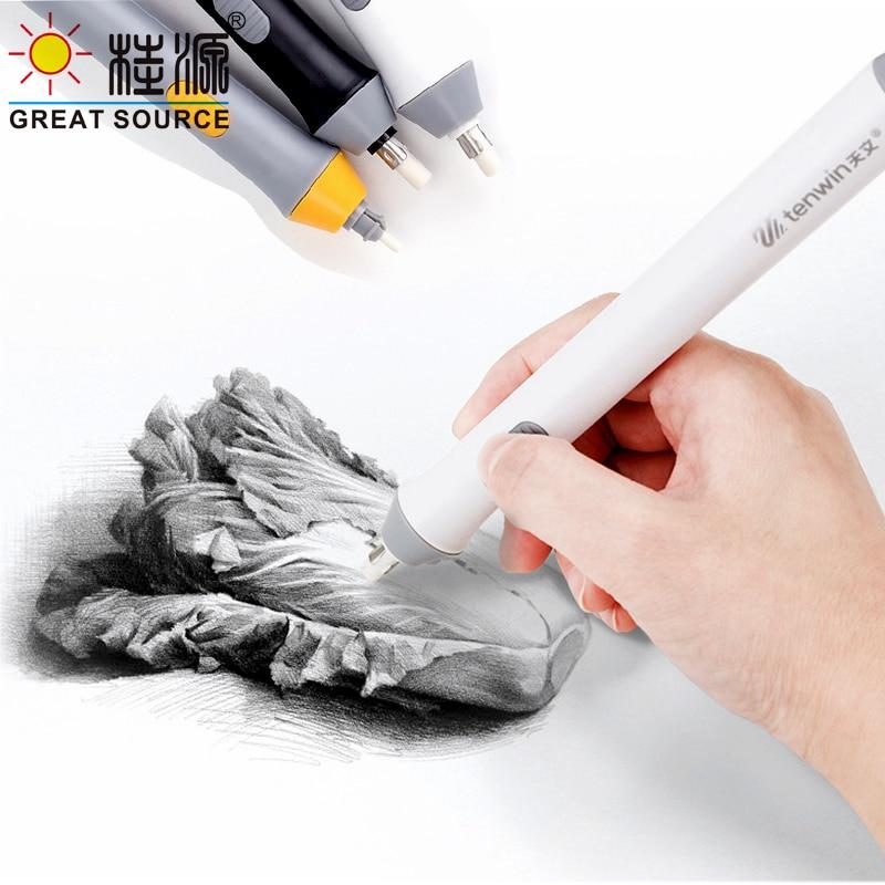 Electric Eraser High Light Eraser Drawing Pencil Eraser Machine Replace 2.3mm / 5mm  Eraser (1PC/Set)