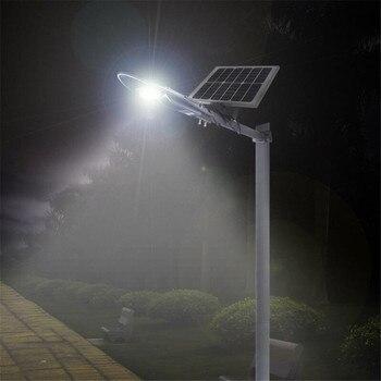 Горячая Распродажа, супер яркий светодиодный уличный светильник с дистанционным управлением, 6 в, 15 Вт, на солнечной батарее, 30 Вт, COB, 800 лм, ул...