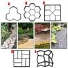 Manually Paving Cement Brick Concrete Molds DIY Plastic Path Maker Mold Garden Stone Road Mold Garden Decoration flash sale