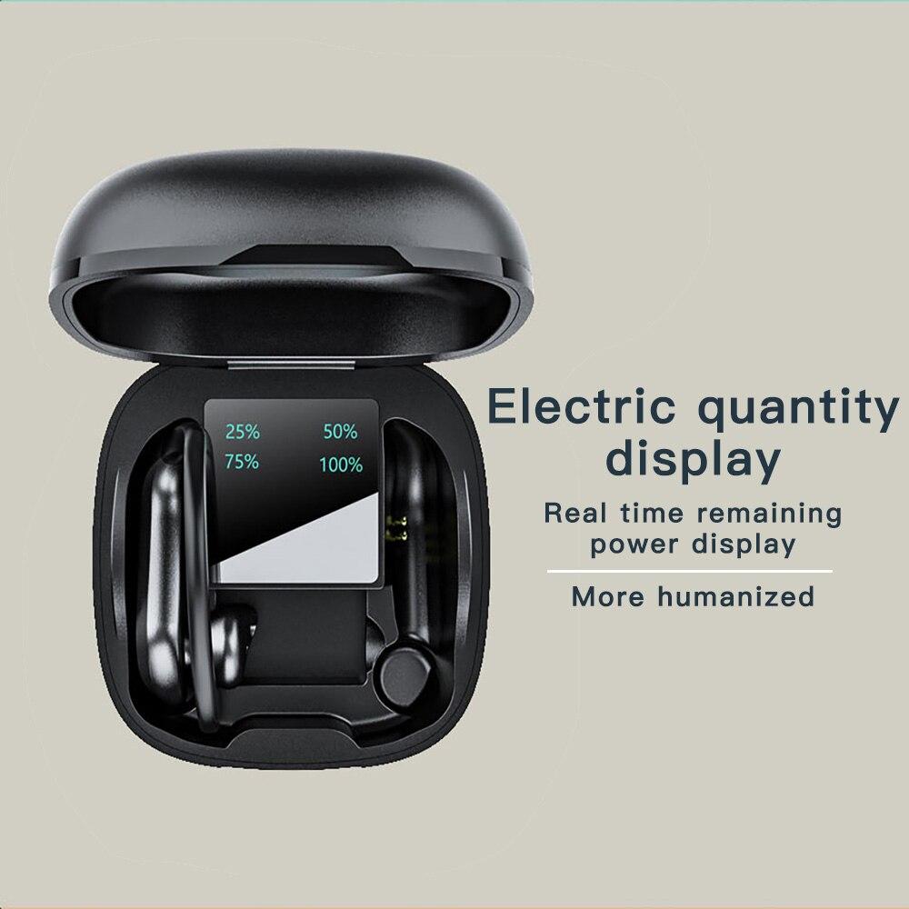 Бизнес Bluetooth-гарнитура смарт-сенсорный стерео звук водонепроницаемый и шумоподавление