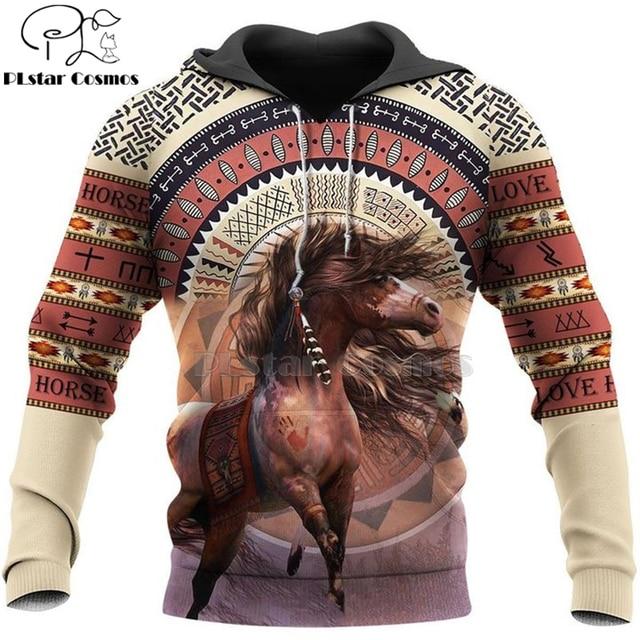 hot sale Men women beautiful horse racing limited edition 3d zipper hoodies long sleeve Sweatshirts jacket pullover tracksuit-5