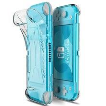 Voor Nintend Schakelaar Lite Beschermende Case Grip Cover Tpu Antislip Clear Shell Voor Schakelaar Lite Console Accessoires