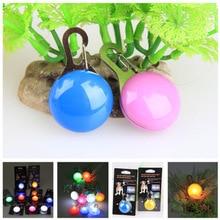 Светодиодный сигнальный светильник для домашних животных, светильник-вспышка, ошейник для собак, кошек, светящийся кулон, ночные безопасные поводки, ожерелье, светящиеся яркие декоративные ошейники