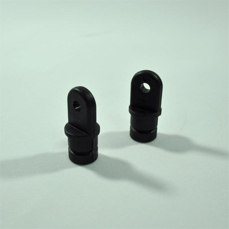 "2PCS Nylon 7//8/"" Tube Eye End Cap Bimini Top Fitting Hardware Stainless Steel"