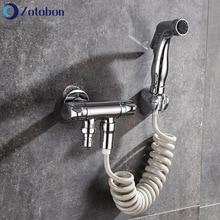 Faucet Shower-Head Bidet-Sprayer Bathroom-Accessories Hand-Bidet Self-Cleaning Portable