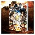 Attacco su Titano Shingeki no Kyojin Colorato Libro di Arte Collezione di Libri di Colore Illustratio Dipinti Anime Artbook
