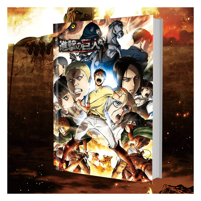 Attack On Titan Shingeki No Kyojin Colorful Book Art Book Collection Color Illustratio Paintings Anime Artbook
