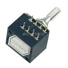Potentiomètre rotatif 50K 100K LOG alpes RH2702 Pot de contrôle du Volume Audio stéréo W Volume