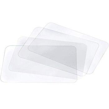 Transparent Placemat Washable Placemat for Heat-Resistant Non-Slip Kitchen Placemat Table (8 Pcs) фото
