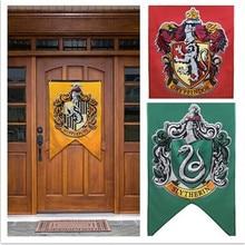 Gryffindor вечерние принадлежности для дня рождения, флаг колледжа, баннеры для мальчиков и девочек, украшение на Хэллоуин, рождественский подарок
