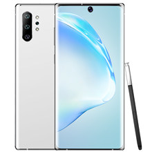 Note10 globais + 6.8 Polegada 10 core 128/256gb smartphones tela cheia epen 13 + 23mp andriod 9.1 mtk6595 andriod celular celular celular celular celular