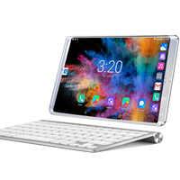 Nouveau système 10.1 pouces tablette 3G/4G appel téléphonique Android 8.0 Wi-Fi Bluetooth 6 GB/128 GB Octa Core double SIM Support tablette + clavier