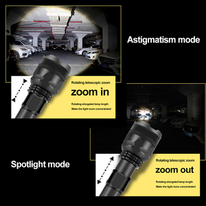 Image 5 - XHP90.2 Rechargeable Powerful Xhp70 LED Flashlight Torch Tactical Light Lamp for Camping 18650 26650 Battery Zoomable Waterproof