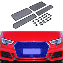 Net Audi A3 8v Car-Accessories Front-Grille for Insert Dust Garbage-Proof Stainless Inner-Cover-Mesh