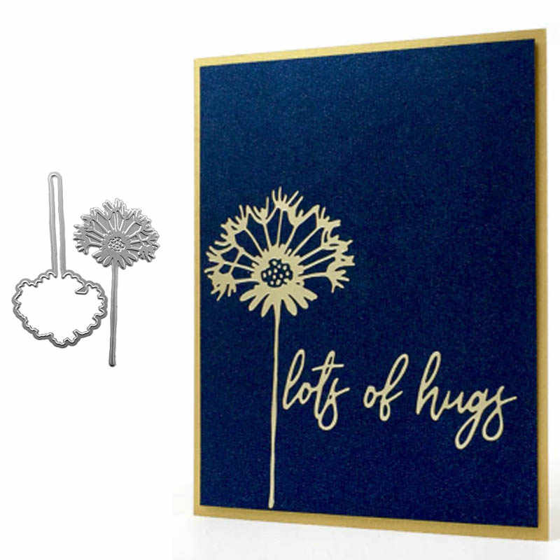 Flower Frame Silver Hot Foil Plate Metal Cutting Dies Stencils for DIY Scrapbooking Photo Album Decor Embossing Paper Crafts Die