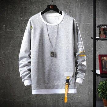 2020 Solid Color Sweatshirt Men Hoodies   3
