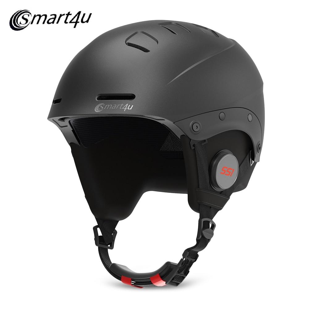 Bluetooth Ski Helmet Built-In Waterproof Detachable Lining Ski Men'S And Women'S Skating Skateboard Ski Helmet Ski Equipment