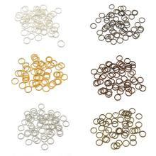 Clasp Findings Connectors Jump-Rings Jewelry-Making Metal Silver Mix-Color Gold Split