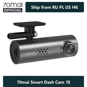 70mai Smart Dash Cam 1S English Voice Control 70 Mai Car Camera 1080P 130FOV Wifi 70mai Car DVR Car Recorder Auto Recorder Wifi(China)
