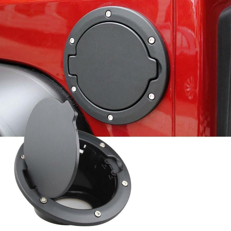 Fuel Filler Gas Cover Cap for Jeep Wrangler JK JKU Sport Rubicon Sahara 07-17