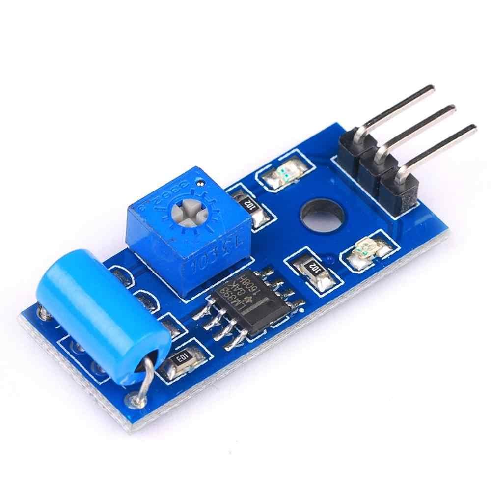 Módulo de Sensor de vibración normalmente cerrado Módulo de Sensor de alarma interruptor de vibración Sw-420 diseño de regulación inteligente
