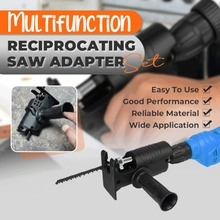 Multifunction Portable Reciprocating Saw Adapter Set Electric Drill Modified Electric Saw Power Tool Wood Cutter Machine Attachm