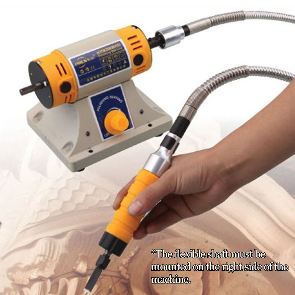 Electric Wood Router With 5 Cutter Slotting Chisel Wrench Flexible Shaft Tools Carving Pen Woodworking Engraving Machine