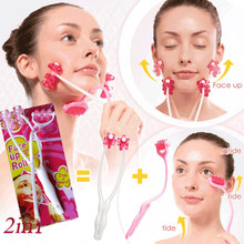 facial massager Portable Roller Face lift Anti-Wrinkle Slimming Relax muscle massage face roller Beauty massage kakusan home use face uplift y shaped microcurrent massage beauty roller
