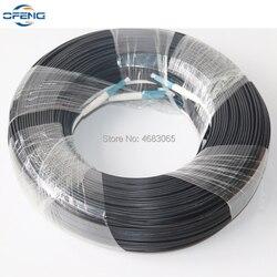 Gratis Schip 100M LC UPC Duplex FTTH Drop Patch Kabel LC SM Duplex G657A glasvezel patchkabel FTTH glasvezel jumper Kabel