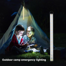 4 Modes Lighting LED Bar Light DC 5V Led Light Strip Rechargeable Led Lamp USB Charging Outdoor Camping Lights with SOS Function