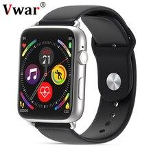 цена на Vwar IWO 4G Smart Watch Support SIM Card Android 7.1 GPS WIFI 780mah Battery Smartwatch for Apple IOS Android Phone VS IWO 12 8