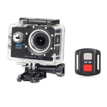 цена на H16R 4K WiFi Remote Control Action Camera Ultra HD Extreme Sports Camera Video Camcorder DVR DV go Waterproof pro Helmet Camera
