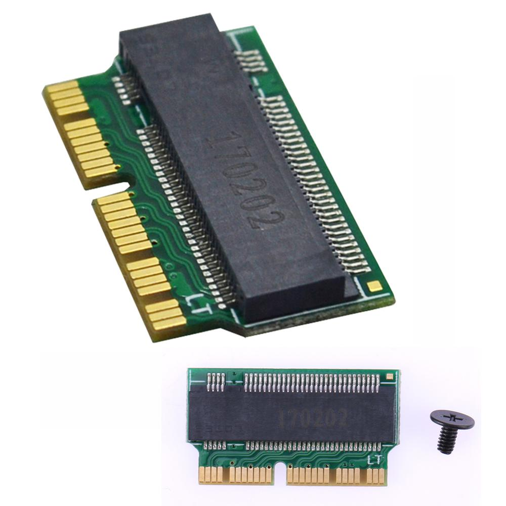 NVMe PCIe <font><b>M.2</b></font> M Key SSD <font><b>Adapter</b></font> Card Expansion Card <font><b>pci</b></font>-<font><b>e</b></font> <font><b>PCI</b></font>-Express Expand Cards for Macbook Air 2013 2014 2015 Expansion Card image