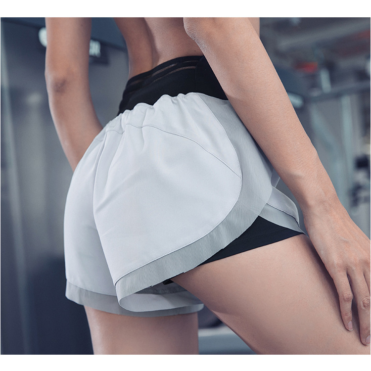 Summer New Leisure Sports Shorts Women Korean Version Of Loose Anti-glare Quick-drying Lady Pants Fitness Running Pants