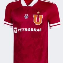 CAMISETA de la Universidad de Chile, camisa de la GUERRA de henarquez, 2021 Camiseta roja DE CHILE rosa