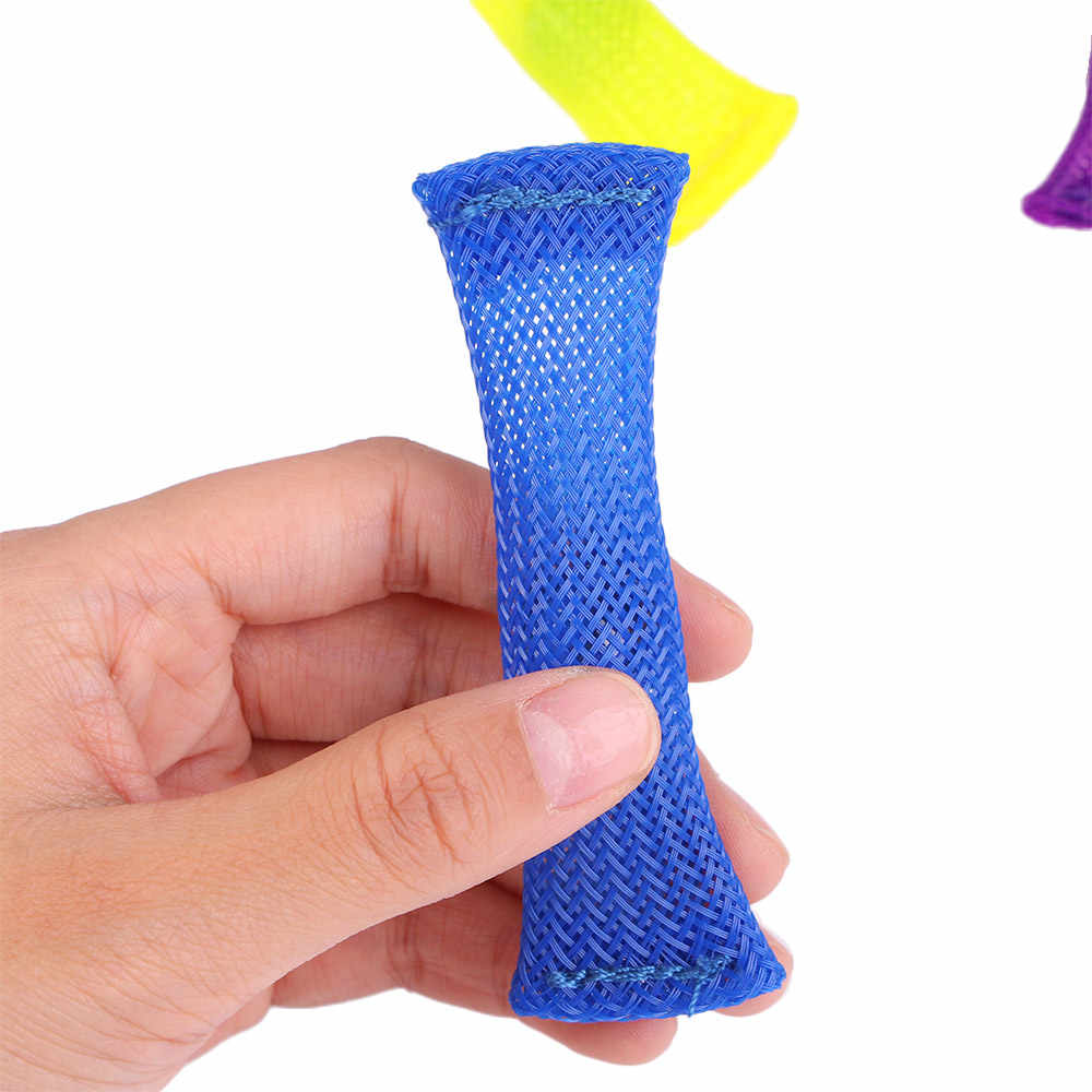 Duyusal oyuncaklar mermerler topu otizm dehb anksiyete terapi oyuncaklar EDC stres giderici el stres oyuncakları örgülü örgü kolay viraj mermer