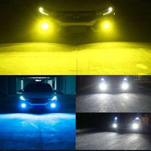 Image 5 - 2pcs רכב פנס מיני גודל H4 H7 LED H1 H11 H3 H8 H9 HB4 9005 9006 LED נורות רכב ערפל אור מנורת 80W 6000K 12000lm 12V