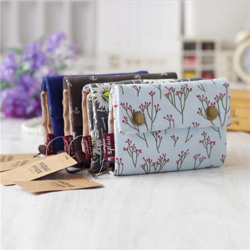 Canvas Wallets Vintage Denim Jeans Women / Men Quality Bag Best Gift Short Zipper Coin Bag Purses Cremallera