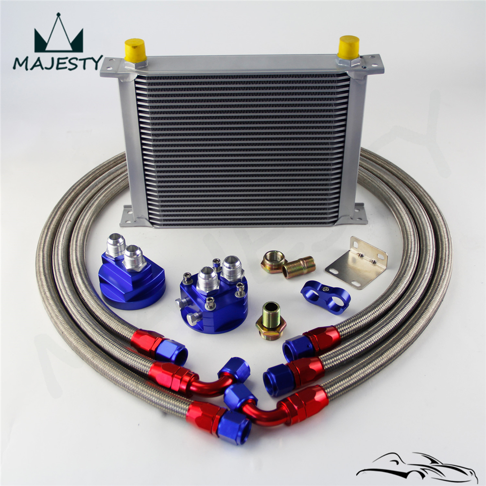 Filter Relocation Kit 7 Row AN-10AN Universal Engine Transmission Oil Cooler